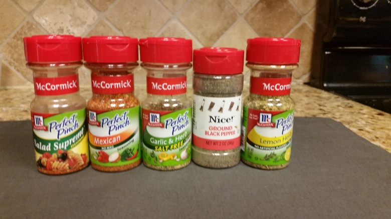 McCormick's Perfect Pinch Spices