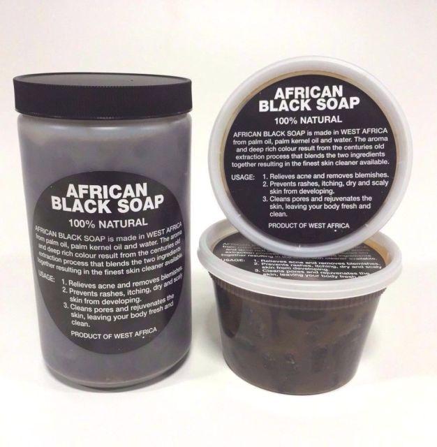 African Black Soap Raw Paste, Image via Ebay